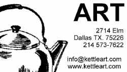 kettle art gallery dallas, texas